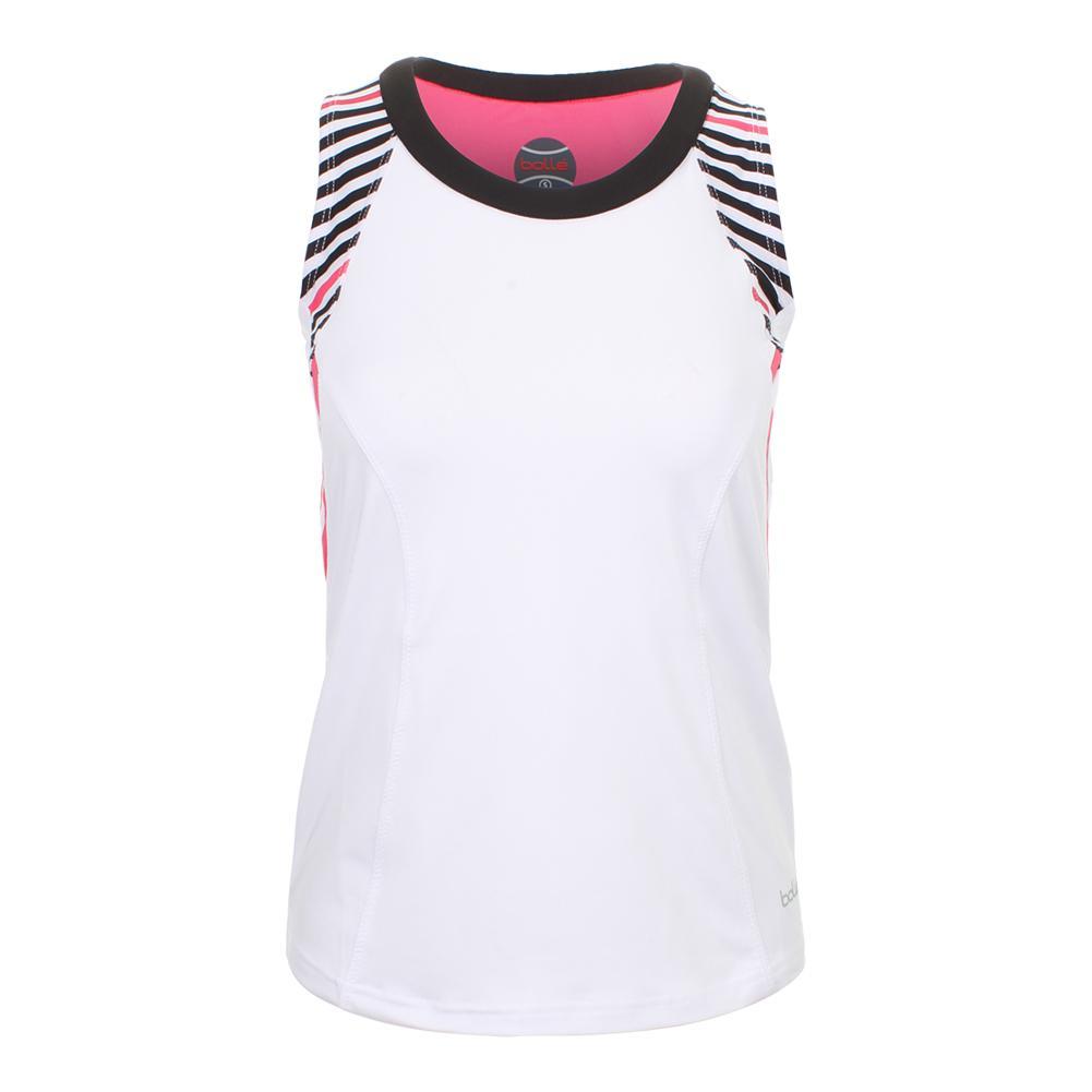 Women's Verona Tennis Tank White