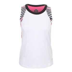 Women`s Verona Tennis Tank White