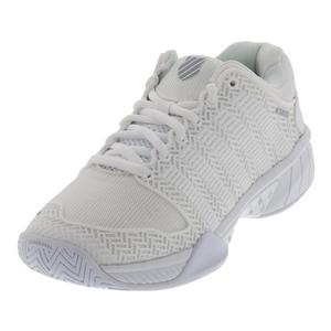 Women`s Hypercourt Express Tennis Shoes White and Highrise