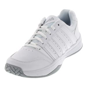 Women`s Court Smash Tennis Shoes White and Highrise