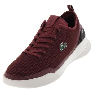 Men`s Lt Dual 118 Tennis Shoes Dark Red and Black