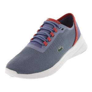 Women`s Lt Fit 118 Tennis Shoes Light Purple and Red
