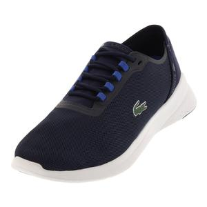 Men`s Lt Fit 118 Tennis Shoes Navy and Dark Blue