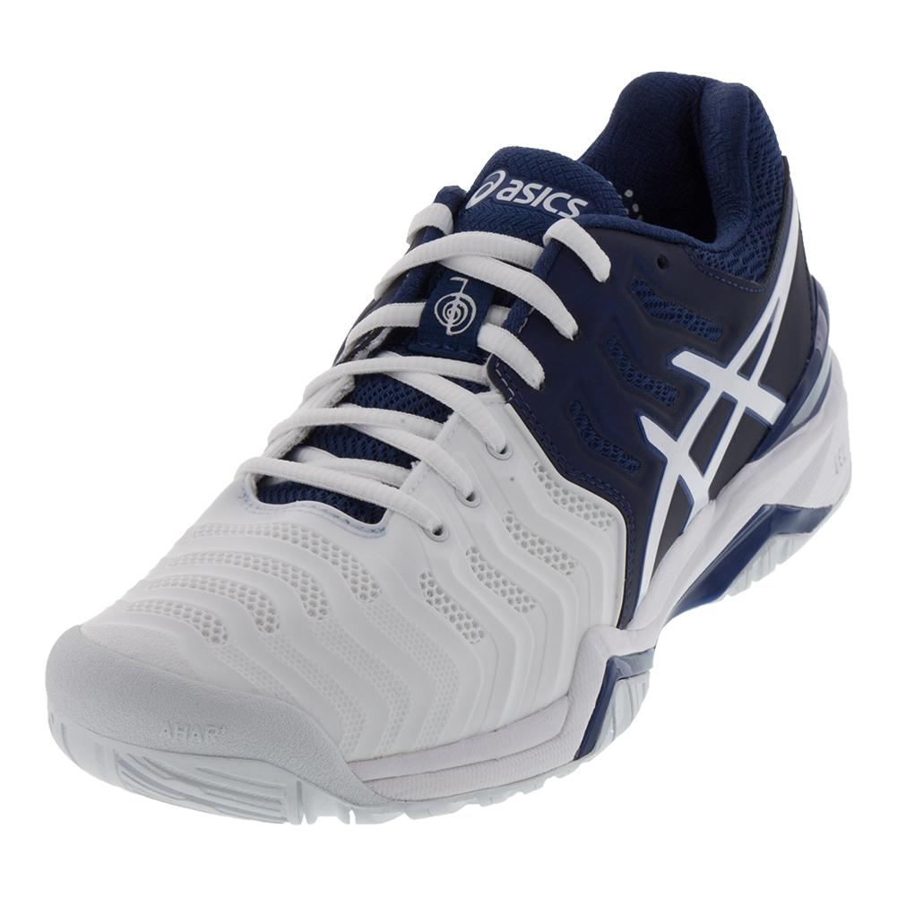 Shoes NEW Men`s Gel-Resolution7 Novak Djokovic Tennis Shoes asics ...