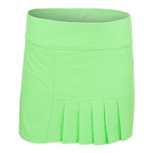 Women`s 13 Inch Dash Tennis Skort Honeydew