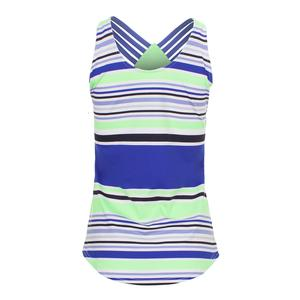 Women`s Whitby Tennis Tank Mai Tai Stripe