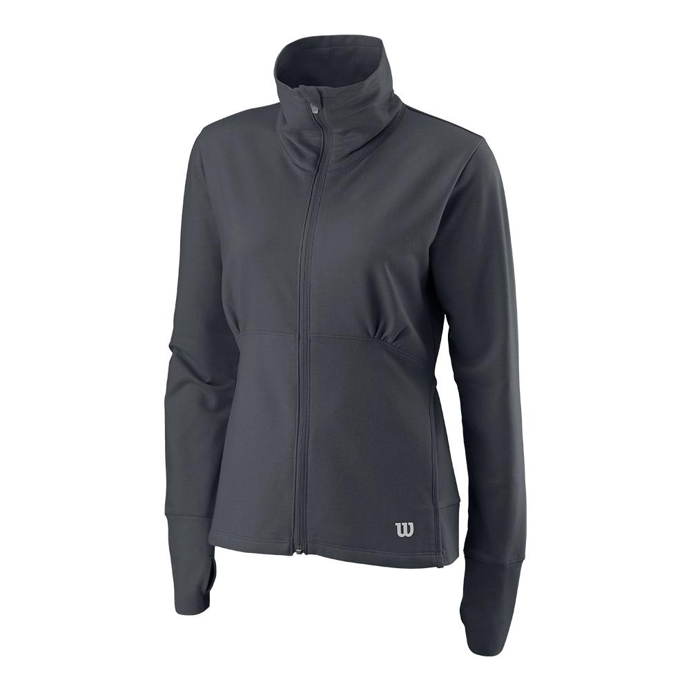 Women's Rush Knit Tennis Jacket Turbulence