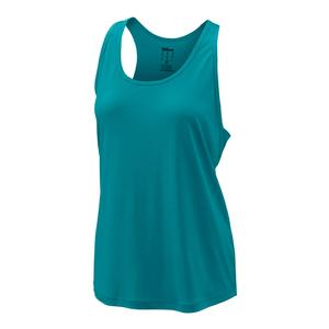 Women`s Condition Tennis Tank Bluebird