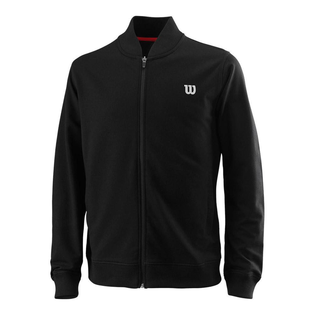 Men's Condition Tennis Jacket Black
