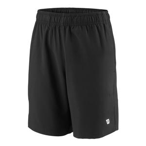 Boys` Team 7 Inch Tennis Short Black