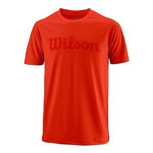 Men`s Urban Wolf 2 Script Tech Tennis Tee