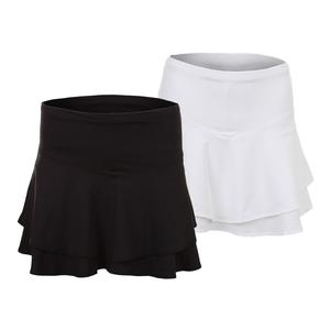 Women`s Long Flip Tier Tennis Skort