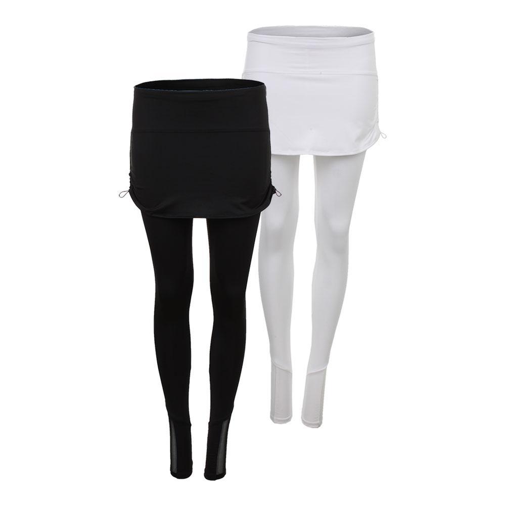 Women's Ruched Tennis Skirt Legging