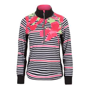 Women`s Verona Graphic Long Sleeve Tennis Top