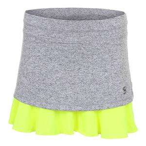 Women`s Love 14 Inch Tennis Skort Spicy