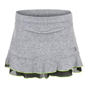 Women`s Backspin 12 Inch Tennis Skort Spicy
