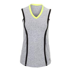 Women`s Banded Tennis Tank Spicy