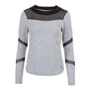 Women`s Grip Long Sleeve Tennis Top Spicy