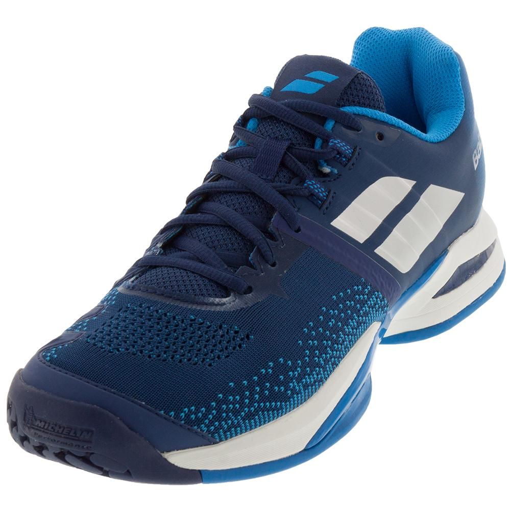Men's Propulse Blast Tennis Shoes Estate Blue And Diva Blue
