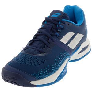 Men`s Propulse Blast Tennis Shoes Estate Blue and Diva Blue