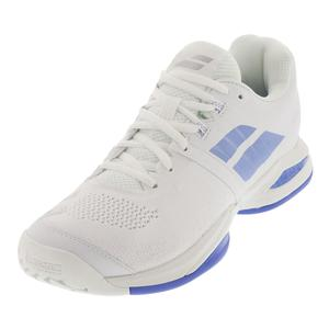 Women`s Propulse Blast Tennis Shoes White and Wedgewood