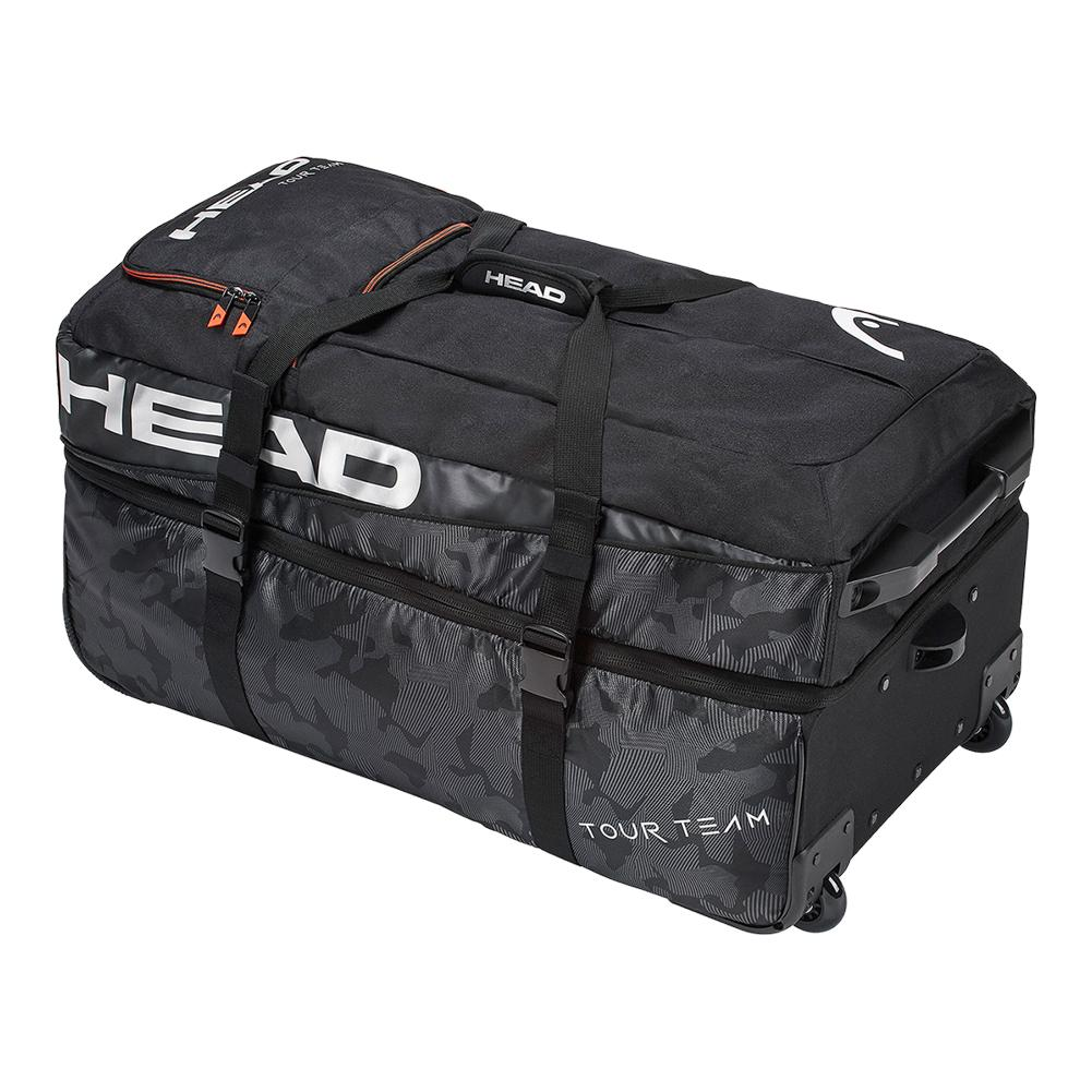 Tour Team Travel Tennis Bag Black And Silver