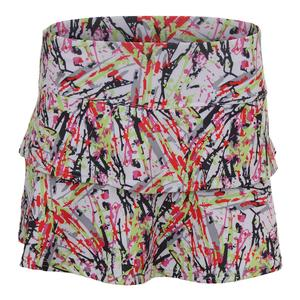 Women`s Capri Graphic Tennis Skort