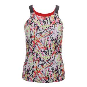 Women`s Capri Graphic Tennis Tank