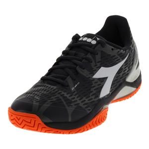 Men`s Speed Blushield 2 Clay Tennis Shoes Anthracite and White