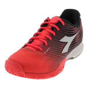 Women`s S Competition 4 Ag Tennis Shoes Fluo Coral and White