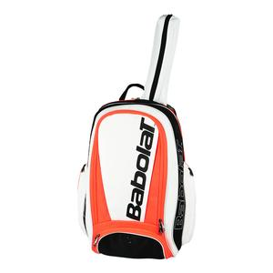 Pure Tennis Backpack White and Red