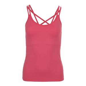 Women`s Sleek Tennis Tank Pink