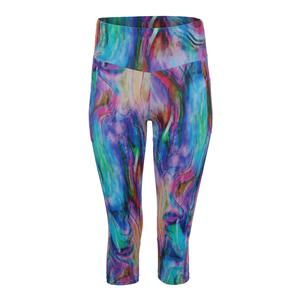 Women`s Wonder Full Tennis Capri Print