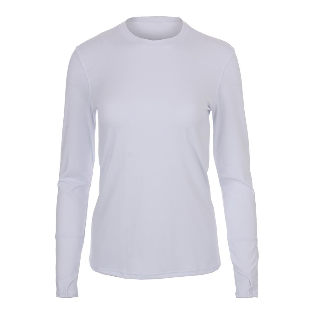 Women's Champion Long Sleeve Tennis Top White