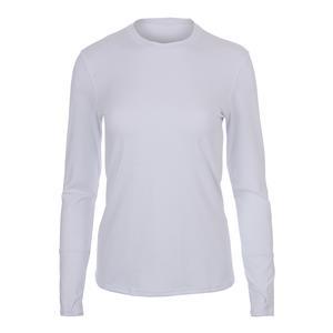 Women`s Champion Long Sleeve Tennis Top White
