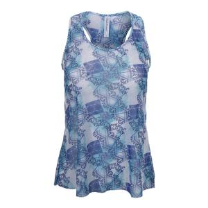 Women`s Layer Tennis Top Scotia Print