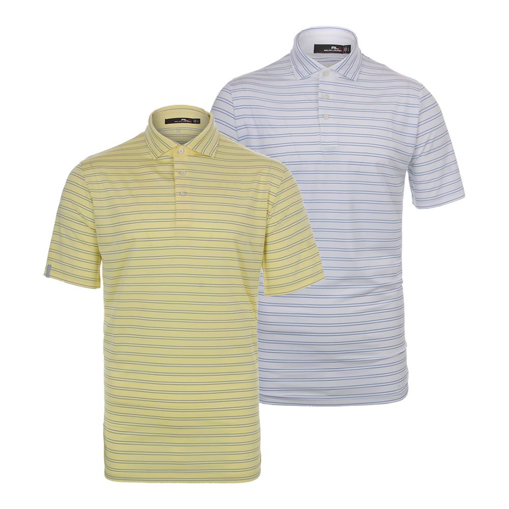 Men's Striped Airflow Tennis Jersey