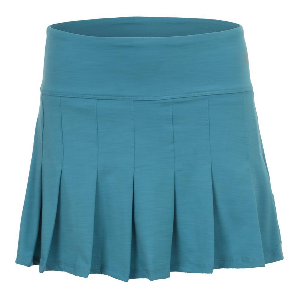 Women's Flutter 14 Inch Tennis Skort Turquoise