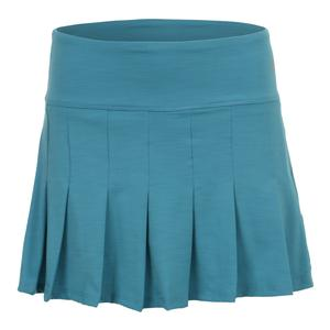 Women`s Flutter 14 Inch Tennis Skort Turquoise