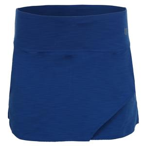 Women`s Fly 13 Inch Tennis Skort Turkish Sea