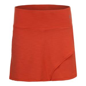 Women`s Fly 14 Inch Tennis Skort Orange