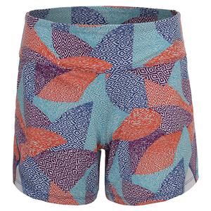 Women`s Rundown Tennis Short Aztec Print