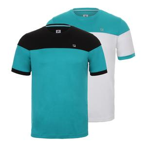Men`s Set Point Color Blocked Tennis Tee