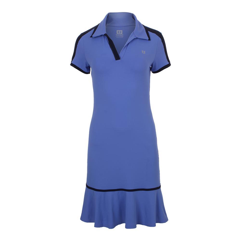 Women's Swing Tennis Dress Baja Blue
