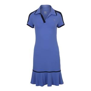 Women`s Swing Tennis Dress Baja Blue