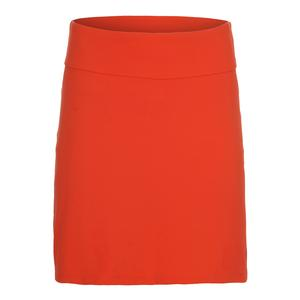 Women`s Motion 16 Inch Tennis Skort Orange
