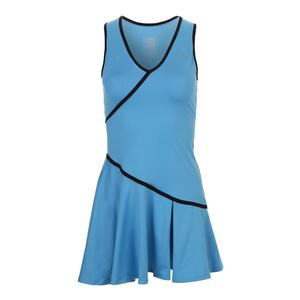 Women`s Crescendo Tennis Dress Carolina Blue