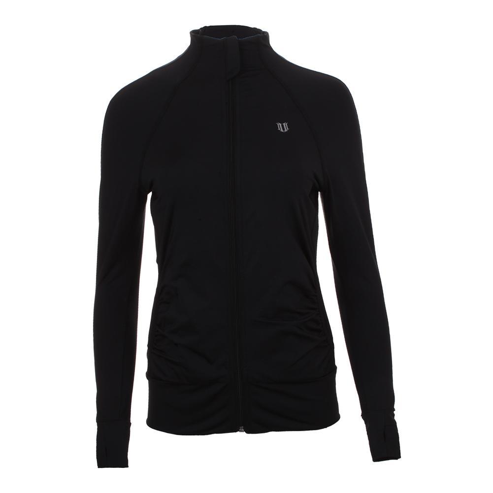 Women's Elite Tennis Jacket Black