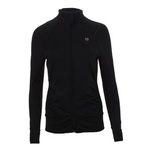 Women`s Elite Tennis Jacket Black