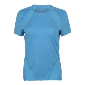 Women`s Balance Tennis Tee Carolina Blue
